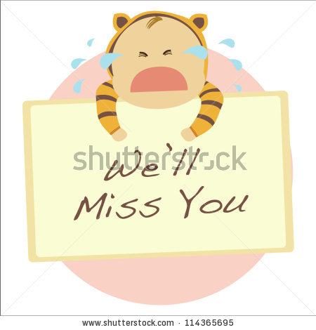 Farewell Card Stock Images, Royalty.