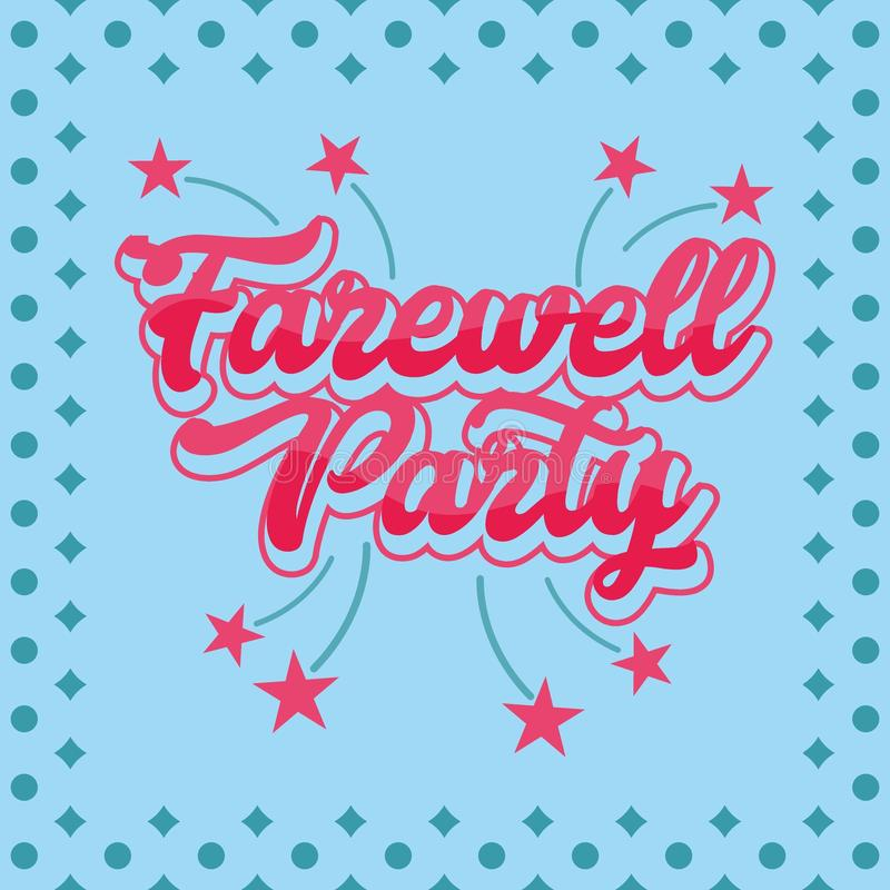 Farewell Party Stock Illustrations.