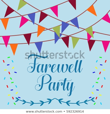Farewell Party Free Vector Art.