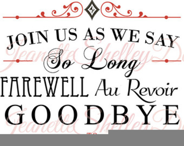 Farewell Party Invitation Clipart Free Images At Clker Com.