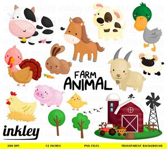 Clipart farm animals 7 » Clipart Portal.