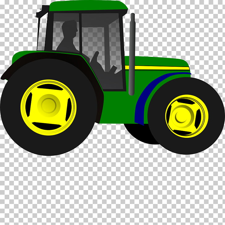 Tractor John Deere , Farm Equipment s PNG clipart.