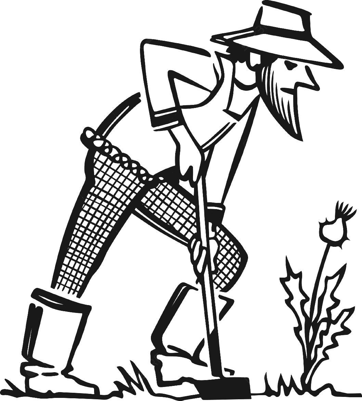 Free Farmer Clipart Black And White, Download Free Clip Art.