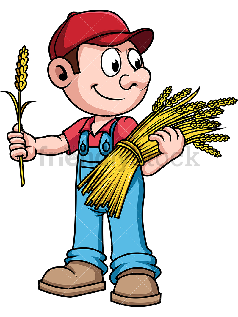 Image Of Farmer Clipart.