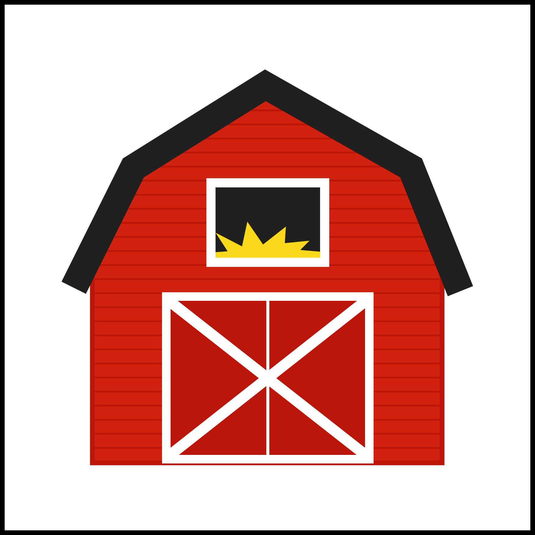 Farmhouse clipart barn silo, Farmhouse barn silo Transparent FREE.