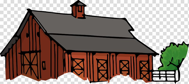 Barn Building Farmhouse , barn transparent background PNG clipart.