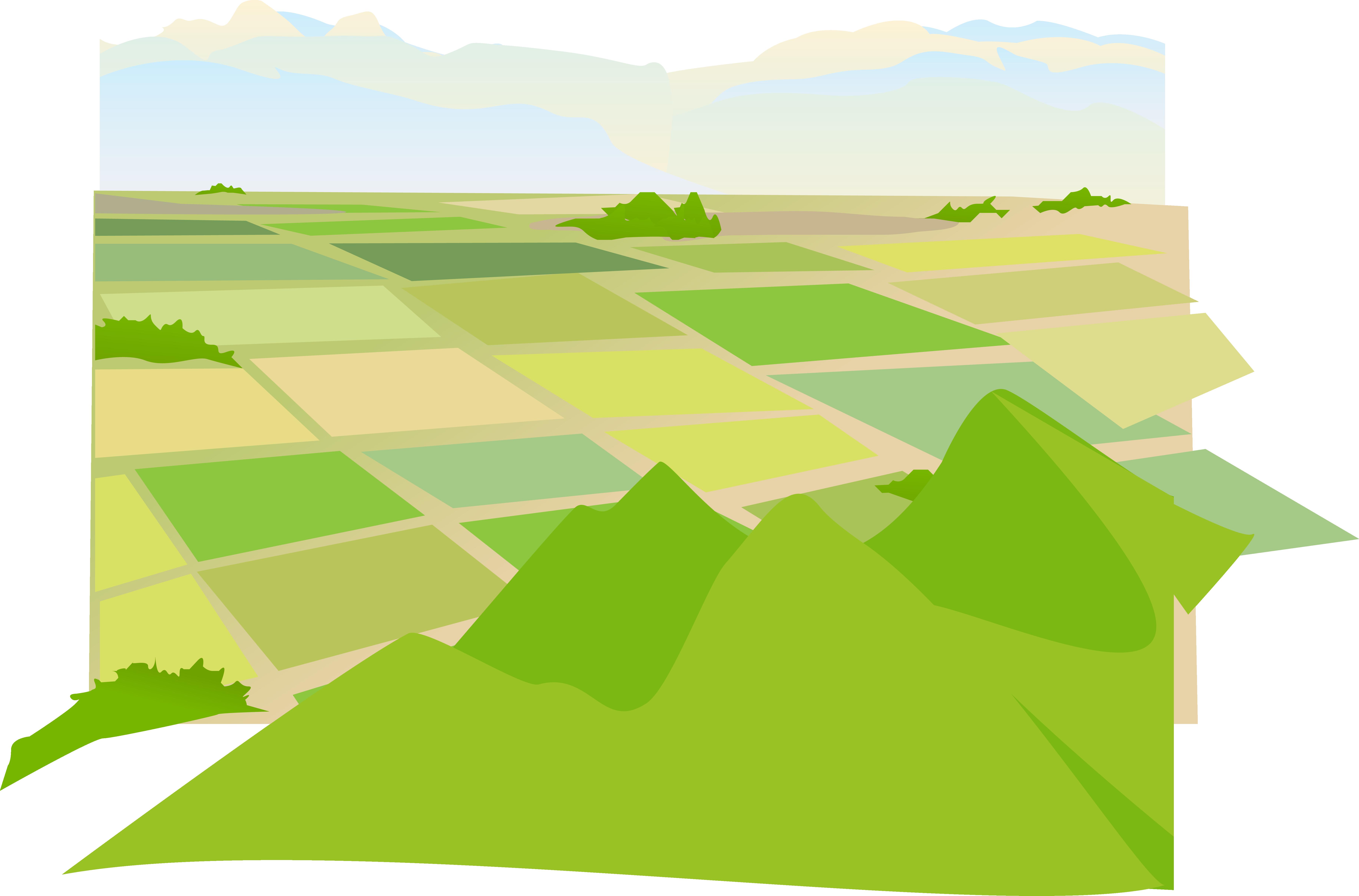 Svg Library Agriculture Clipart Farmland.