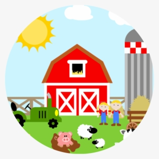 Free Farm Clip Art with No Background.