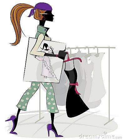 Fashion designer clipart 4 » Clipart Station.