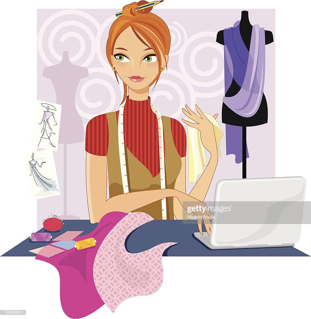 60 Top Fashion Designer Stock Illustrations, Clip art, Cartoons.