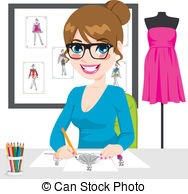 Fashion designer Clipart and Stock Illustrations. 12,650 Fashion.