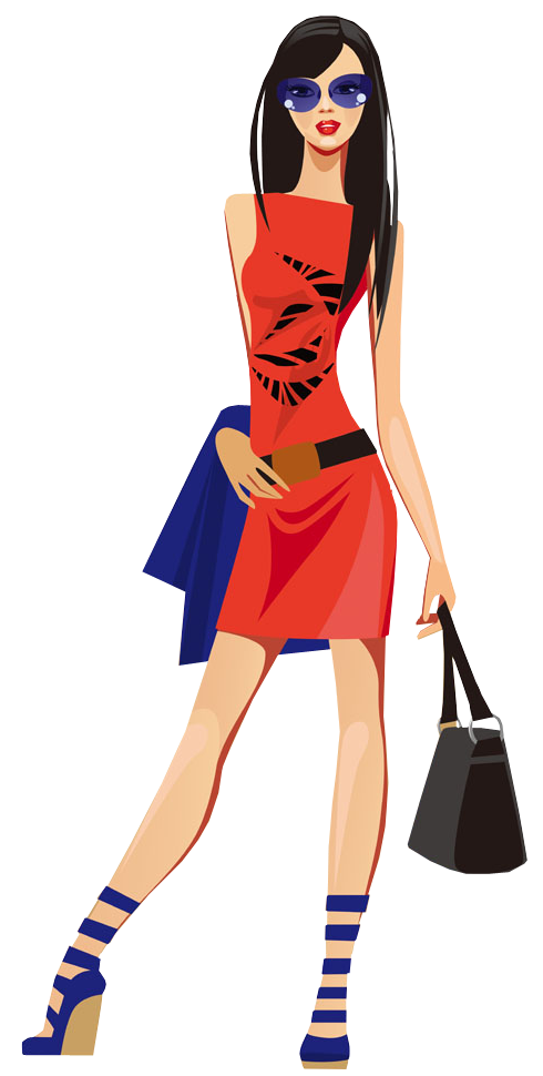 Fashion Girl Clipart Png.