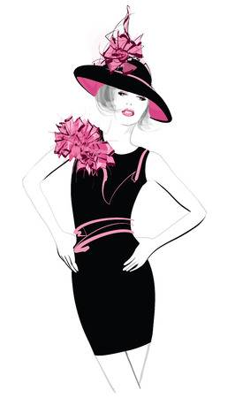 166,587 Fashion Model Stock Illustrations, Cliparts And Royalty Free.