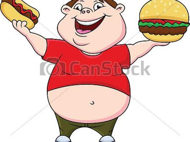Fat Guy Clipart 10.