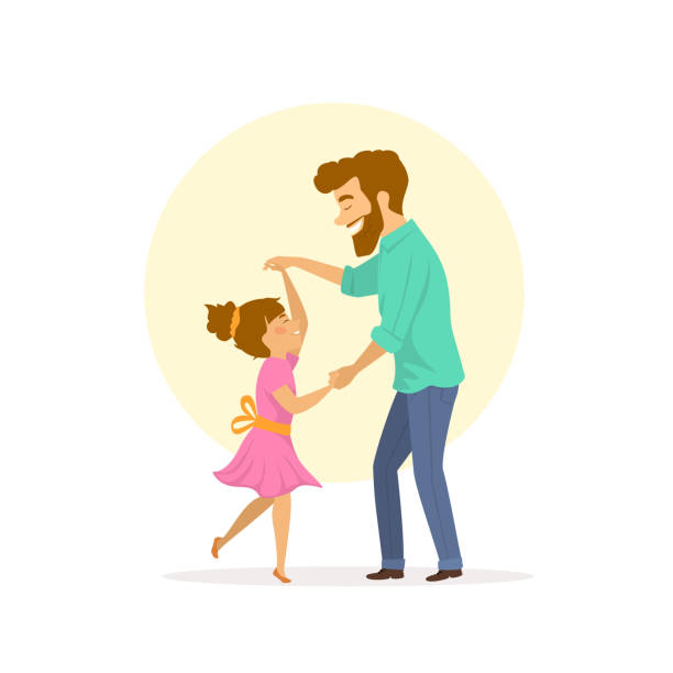Best Father Daughter Illustrations, Royalty.