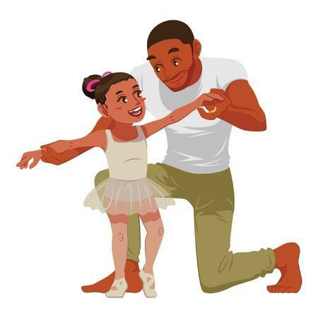 Father daughter clipart 6 » Clipart Portal.