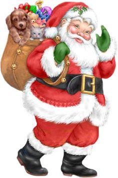 Clipart Father Christmas Santa Claus.