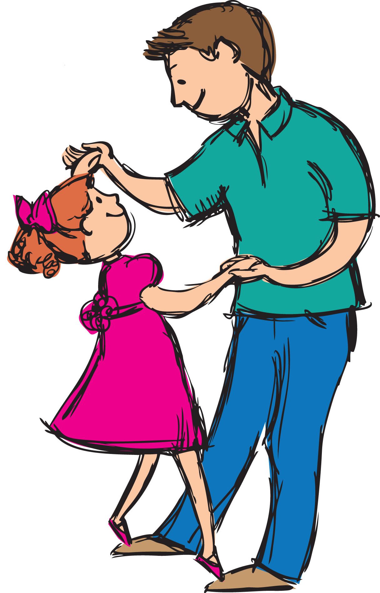 Father And Daughter Clipart at GetDrawings.com.