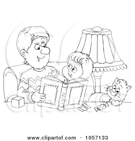 Royalty Free Stock Illustrations of Fathers by Alex Bannykh Page 1.