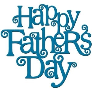 Silhouette Design Store: \'happy father\'s day\' word art.