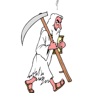 Father Time clipart, cliparts of Father Time free download (wmf, eps.