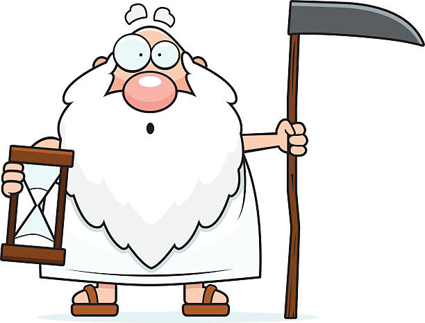 50 Father Time Clip Art, Vector Graphics and Illustrations.