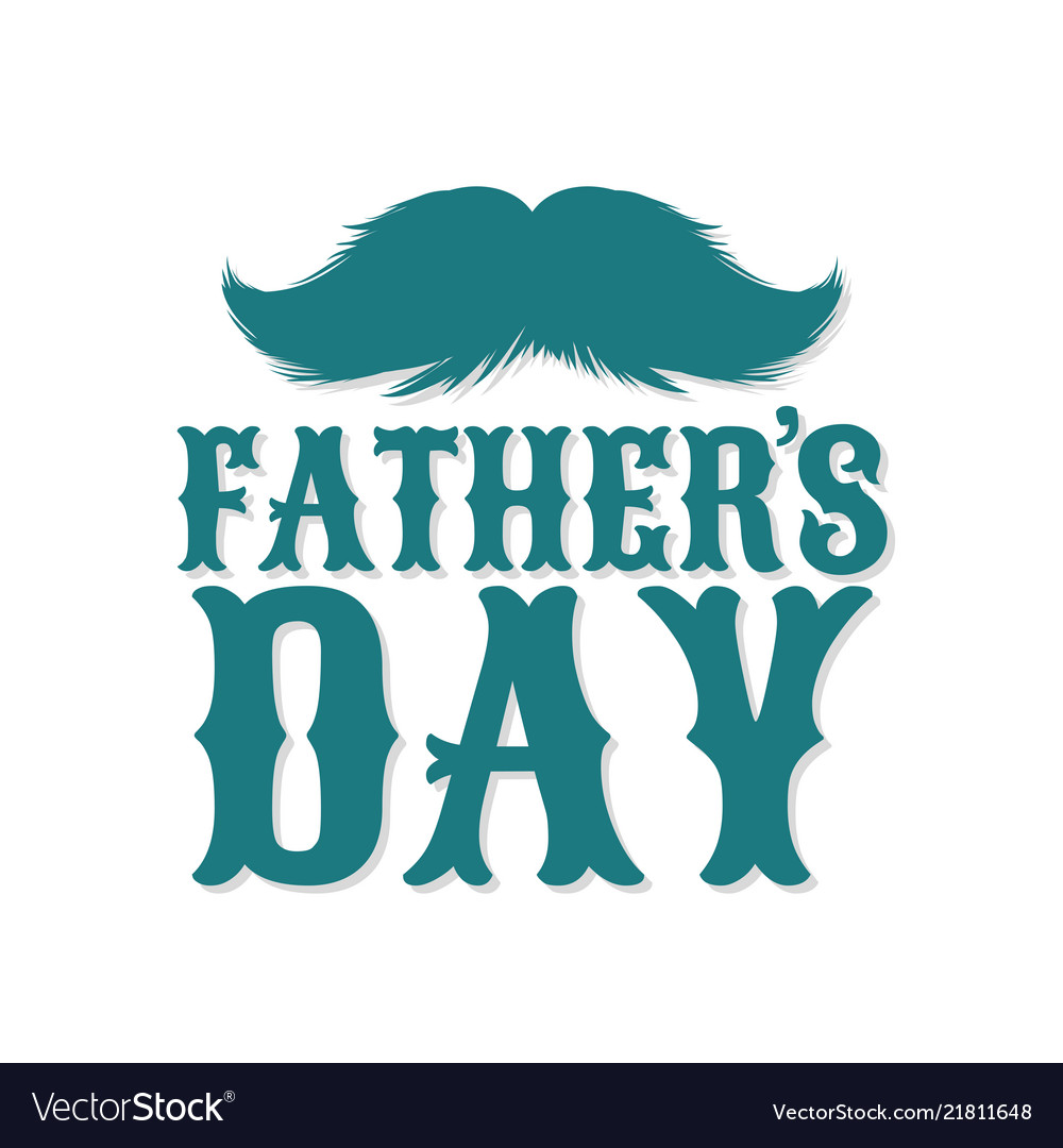 Moustaches clipart fathers day holiday with.