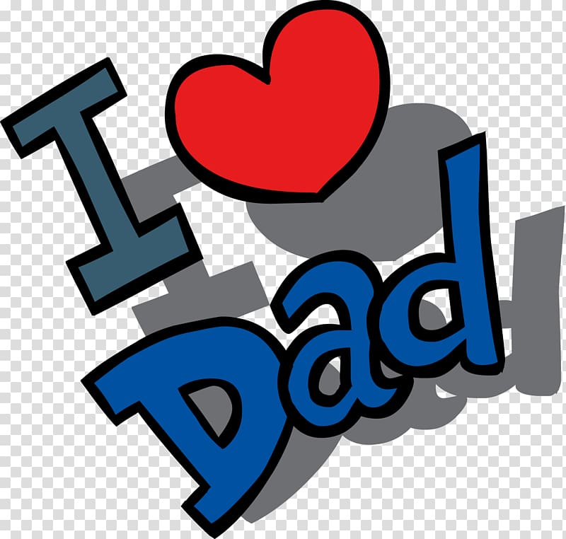 I love dad illustration, Fathers Day Gift , Fathers Day File.