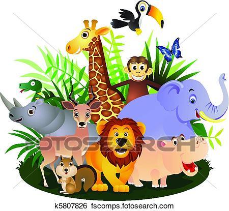 Wildlife Clipart.