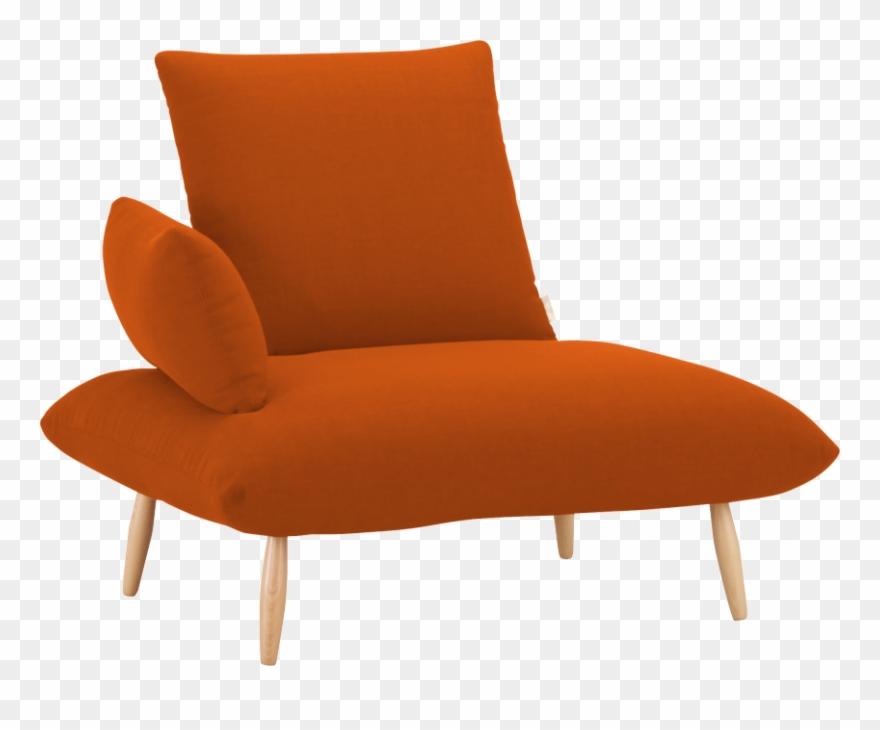 Fauteuil Orange.