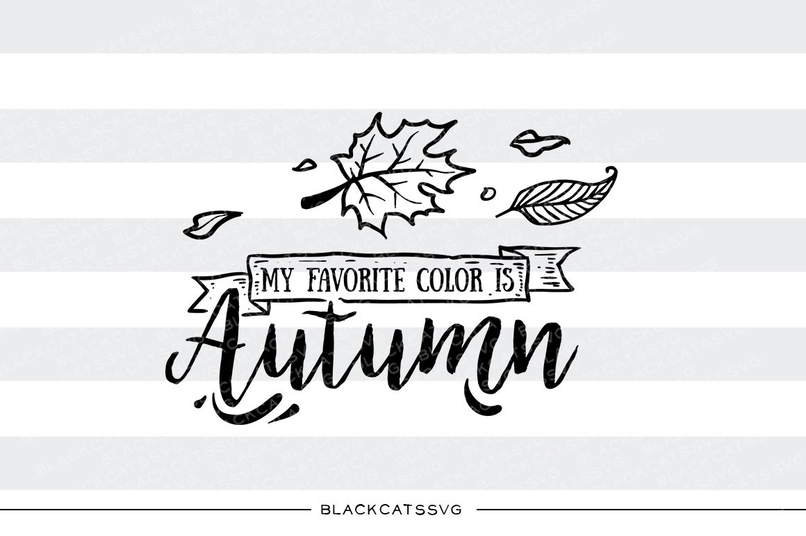 My favorite color is autumn.