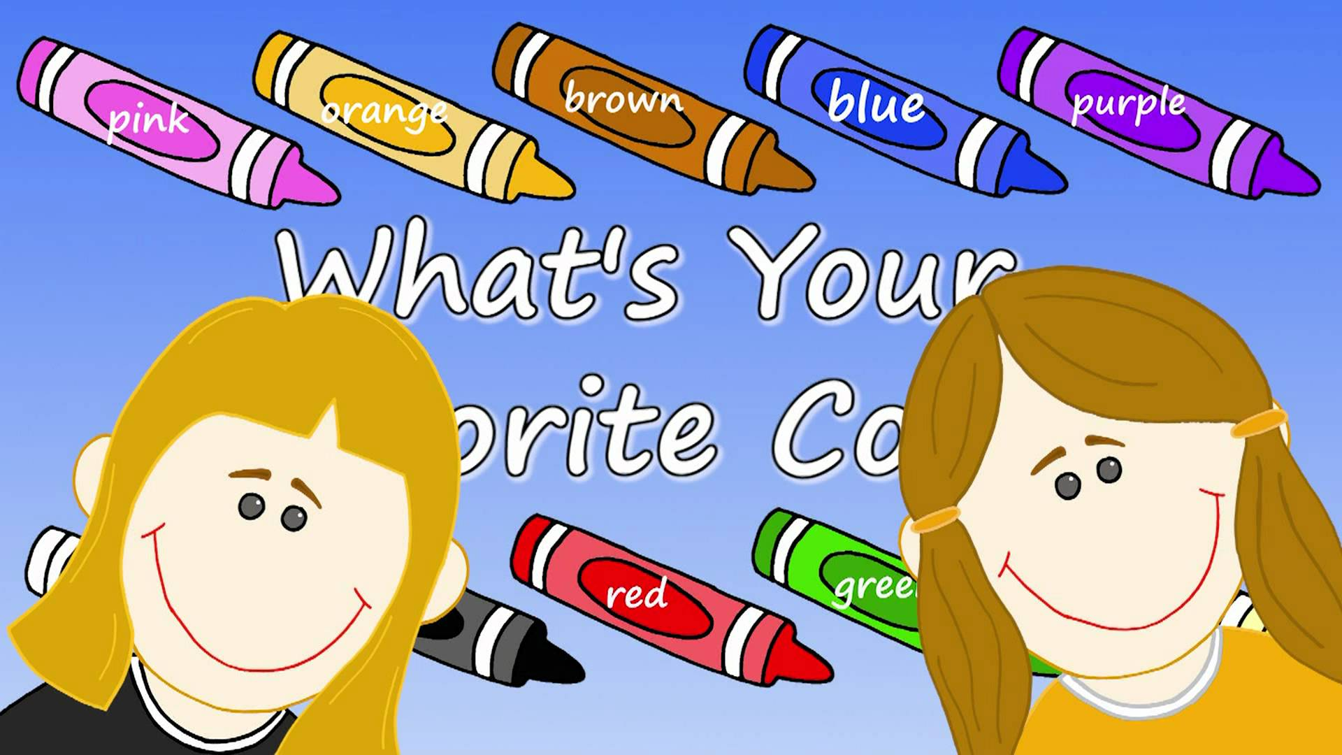 What's Your Favorite Color?.