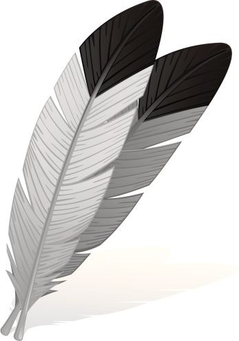 Eagle Feather Clip Art, Vector Images & Illustrations.