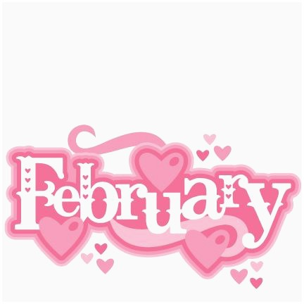 February clipart, February Transparent FREE for download on.