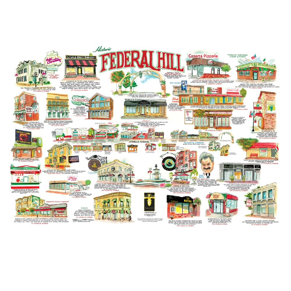 Historic Federal Hill, Providence RI.