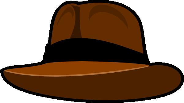 Fedora Clip Art at Clker.com.