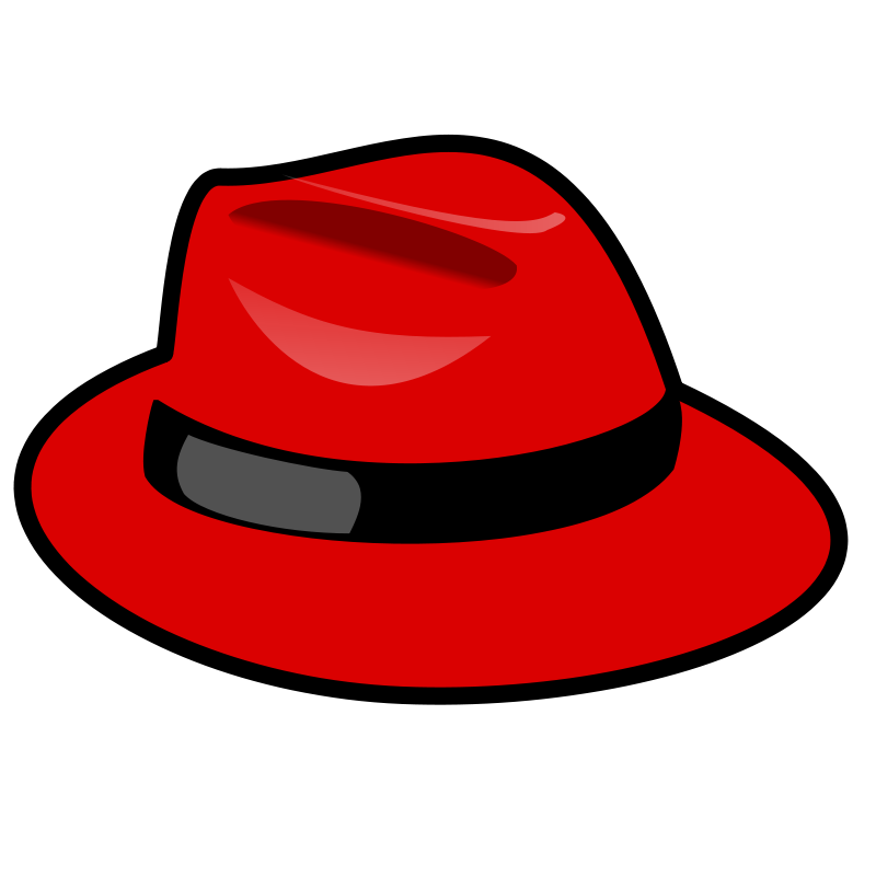 Free Clipart: Red fedora.