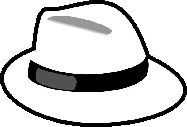 White Hat Clip Art at Clker.com.