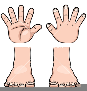 Keep Your Hands And Feet To Yourself Clipart.
