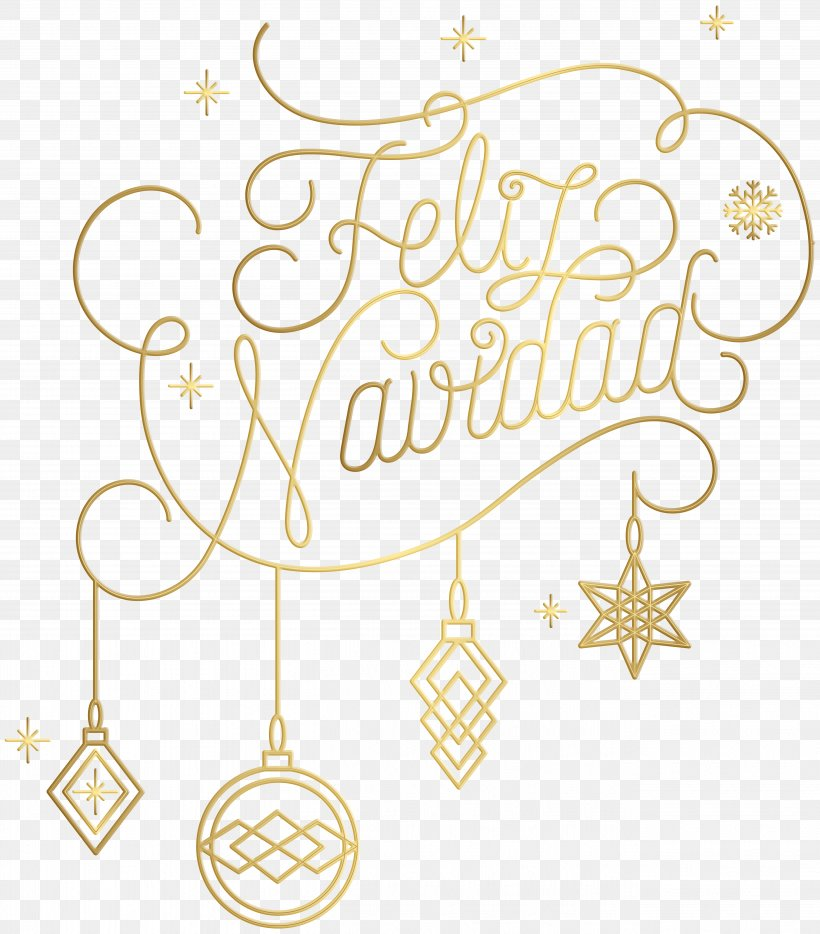 Christmas Ornament Feliz Navidad Clip Art, PNG, 5264x6000px.