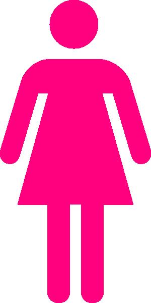 Clipart female symbol.