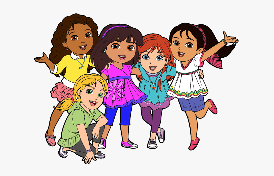 Friends Clipart.