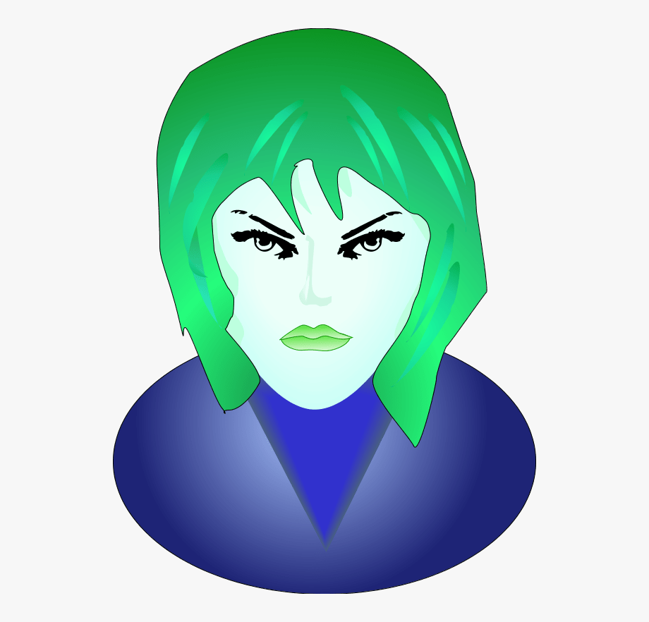 Smiley Femme Fatale Face 1 25 Magnet Emoticon Clipart.