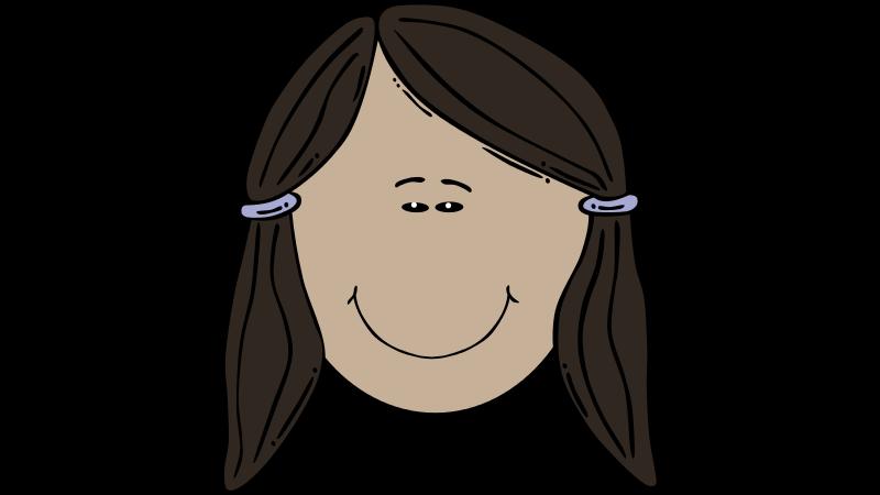 Free Clipart: Jeune femme asiatique.