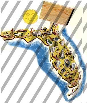 Map florida clip art image fenderskirts vintage imagery image #27374.