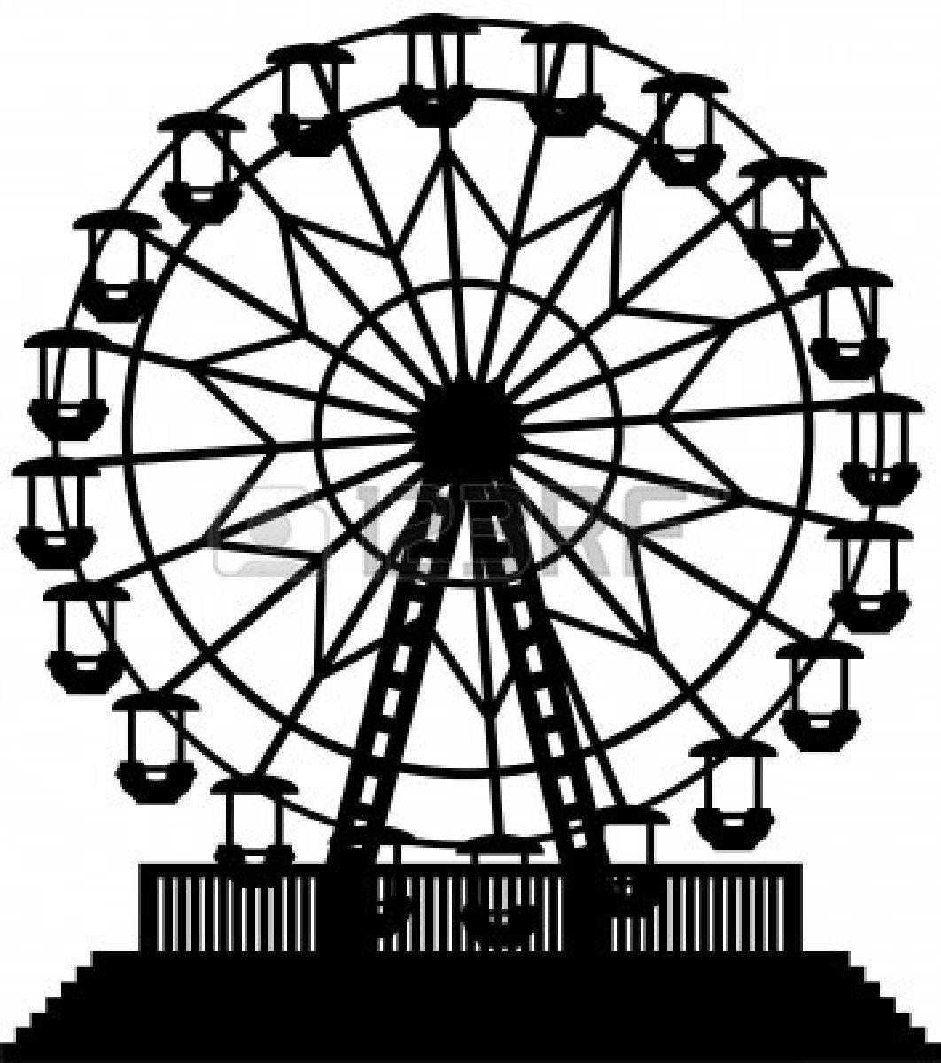 Ferris wheel clipart wheels and 2.