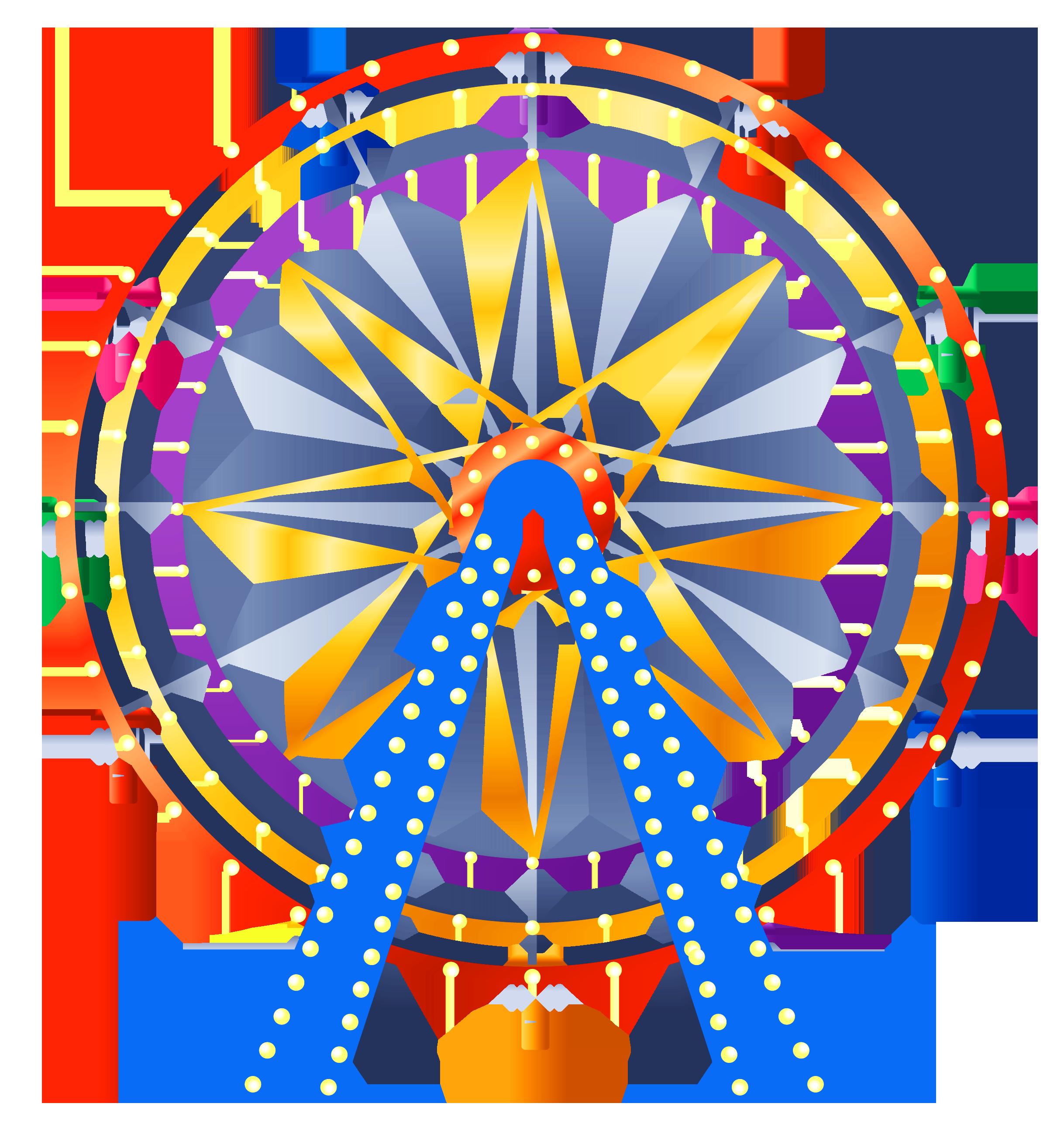 Ferris Wheel PNG Clip Art.