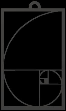 Fibonacci Spiral Pendant Attempt.