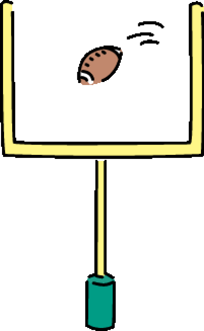 Download Free png Football Field Goal Clipart.