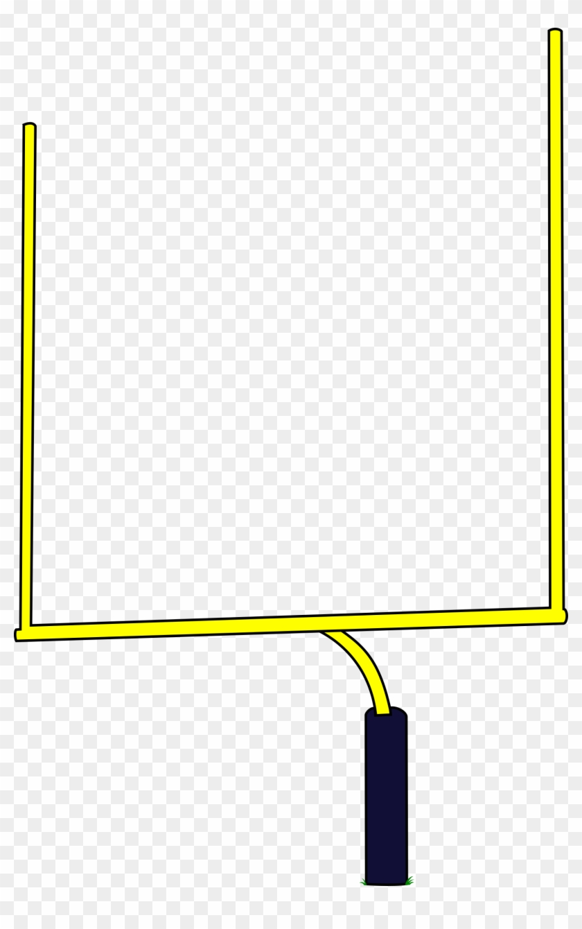 28 Collection Of American Football Goal Clipart.